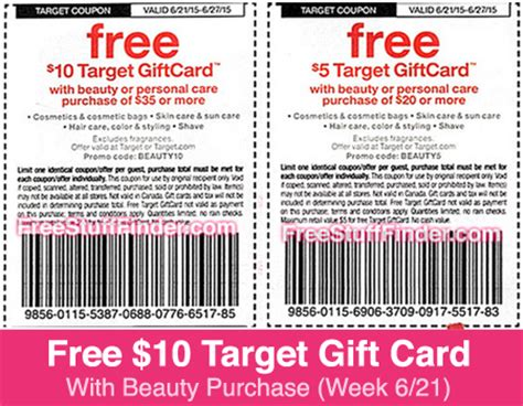 target coupon in