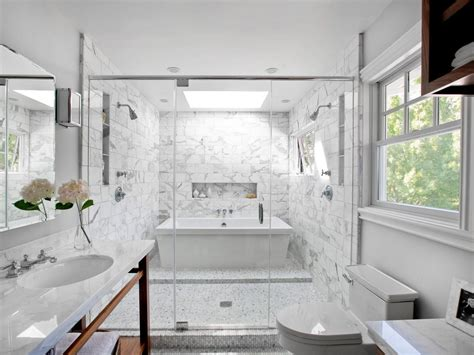 White Bathroom Tile Ideas 15 Simply Chic Bathroom Tile Design Ideas Bathroom Ideas Designs Hgtv