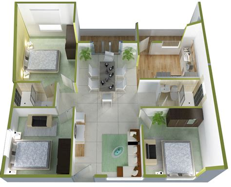 1287 sq ft 3 bhk 2t apartment for sale in ds max scion