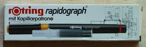 Tinta Rapido Rotring estilografos rotring