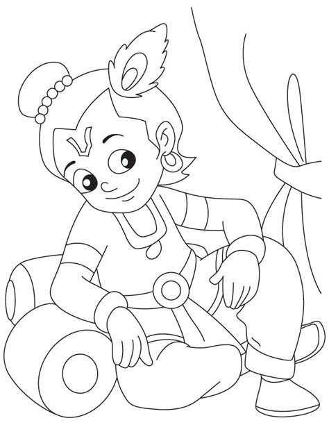 adult coloring pages lord krishna coloring pages