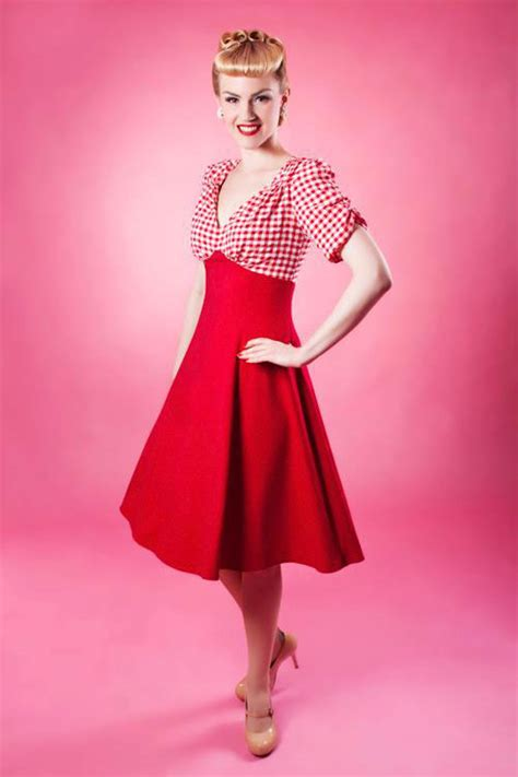 swing dance fashion 20th century foxy vintage style chic glamourdaze