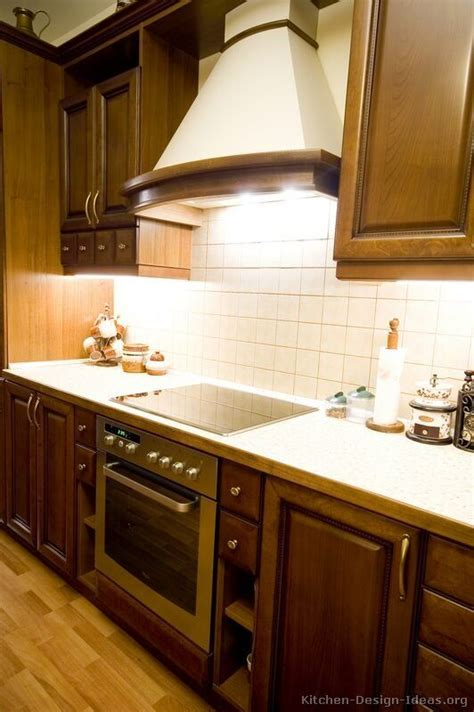 walnut color kitchen cabinets kitchen of the day classic dark walnut colored kitchens