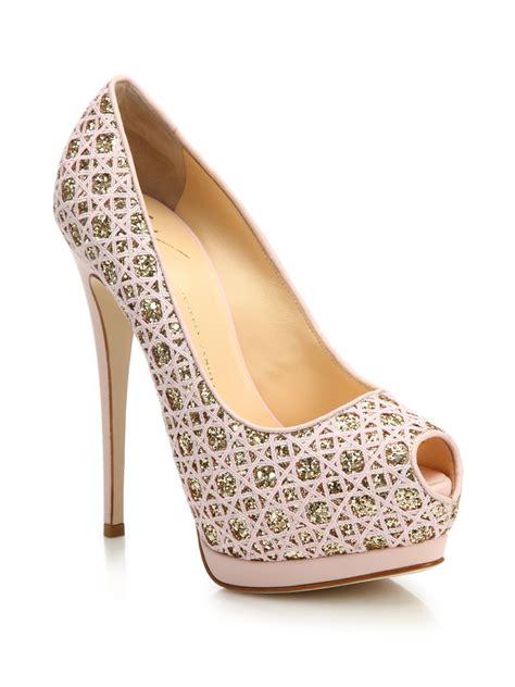 light pink platform heels light pink glitter heels is heel