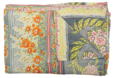 Kantha Quilt How To Make by Vintage Kantha Quilt Swan