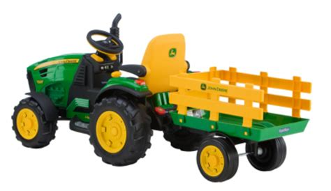 battery powered grow l deere ground tractor made baby