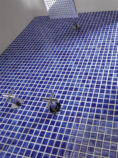 Bathroom Recycled Glass Tiles Recycled Glass Tile Space Cobalt Modern Bathroom