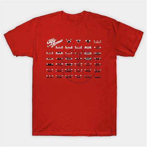 Alfa Romeo Apparel by Alfa Romeo Family T Shirt By Automotiveart Via Teepublic