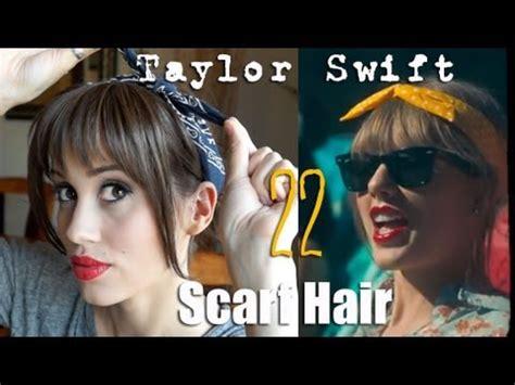 tutorial video swift taylor swift 22 music video hair tutorial youtube