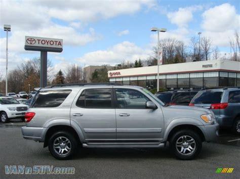 2006 Toyota Sequoia Limited 2006 Toyota Sequoia Limited 4wd In Silver Sky Metallic