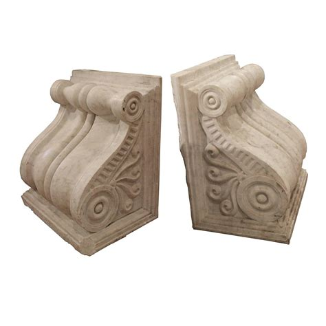 Marble Corbels carrara marble corbels for sale at 1stdibs