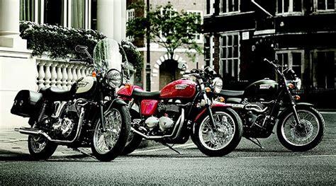 Motorräder Im Classic Look by Triumph Motorrad Klassiker Bonneville Bis Scrambler