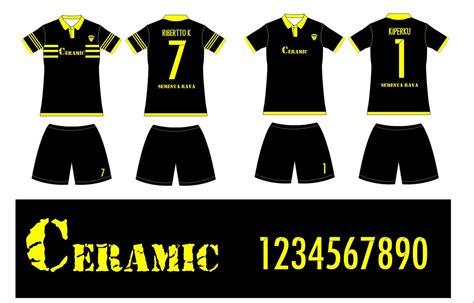 Buat Desain Baju Futsal Online | pembuatan baju futsal berkerah pemesanan dari bekasi