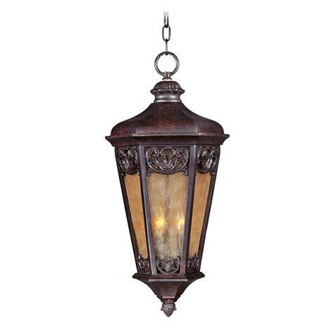 colonial outdoor lighting maxim lighting vx colonial umber outdoor hanging light 40177nscu destination lighting