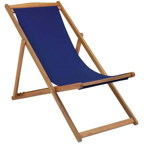 charles bentley fsc eucalyptus wooden deck chair buydirect4u
