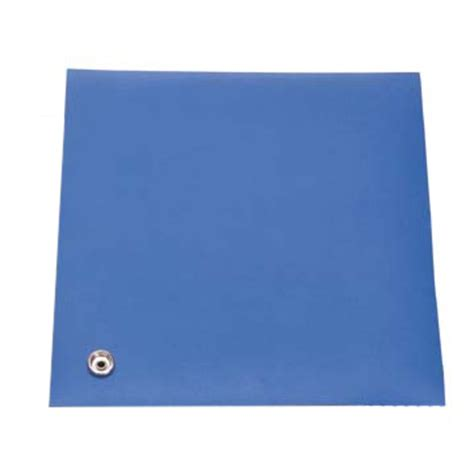 Rubber Table Mat by Botron B61250 Esd Table Mat Rubber 2 Layer Blue