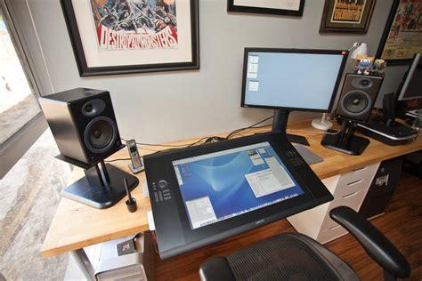 Cintiq Desk by Wacom Cintiq Search Desk Setup