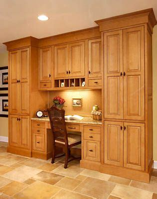 Kitchen Cabinet Desk Units by Another Floor To Ceiling With A Built In Desk Kitchen