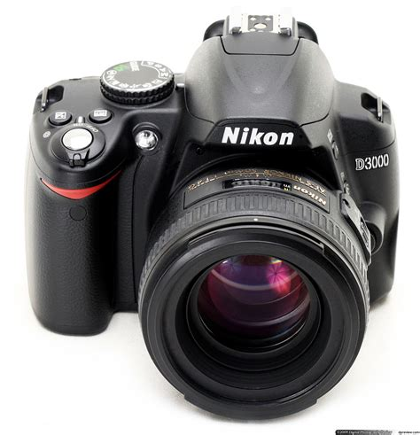 nikon d3000 dslr nikon d3000 review digital photography review