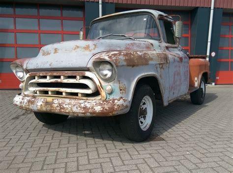 1957 chevy stepside pick up chevrolet stepside pick up v8 1957 catawiki