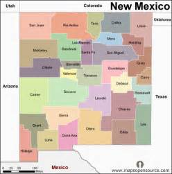 free new mexico map map of new mexico state usa open