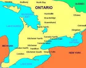 maps of ontario canada algonquin park south