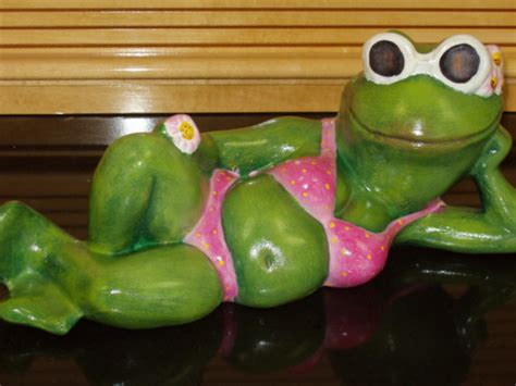 Pelican Home Decor by Ceramic Frog In Pink For Your Garden By