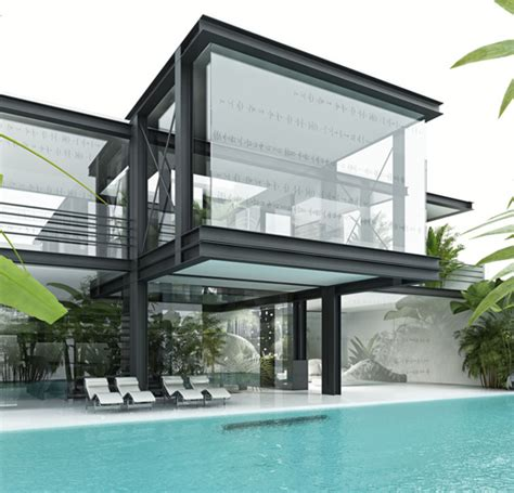 home architect design glass house art and architecture