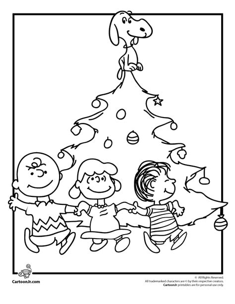 coloring pages for charlie brown christmas peanuts christmas coloring pages coloring home