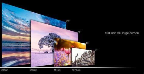 Proyektor Mini Home Theater proyektor mini lcd 800 x 480 pixel 1000 lumens gm60