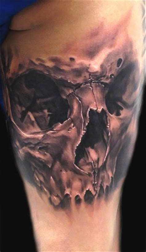 realistic skull tattoo 58 unique skull tattoos ideas and designs