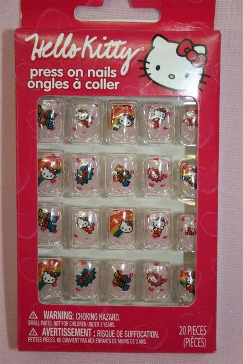 kitty press  nails  piece set  shipping