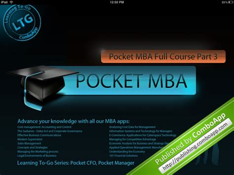 Mba Courses Discount by Discount On Pocket Mba Course The Tech Journal