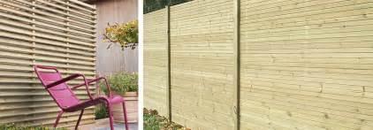 palissades en bois portails et barri 232 res de jardin pr 232 s