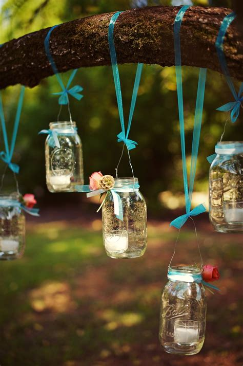glass decorations for home decoration artistic hanging mason jar for gorgeous