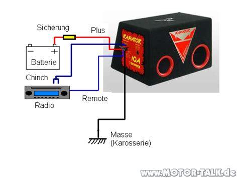 Auto Aktiv Subwoofer Richtig Anschlie En by Aktiver Subwoofer Verkabelung Schema Bassbox F 252 R