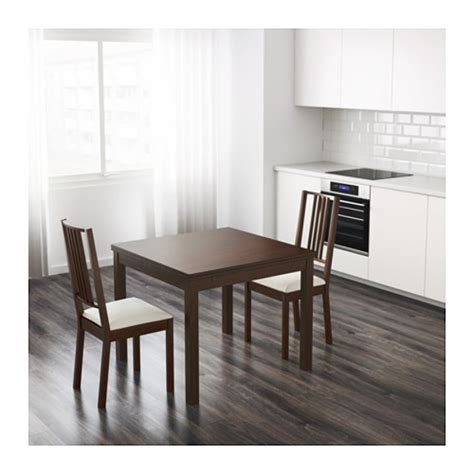 ikea expandable dining table and 4 chairs ta 33613