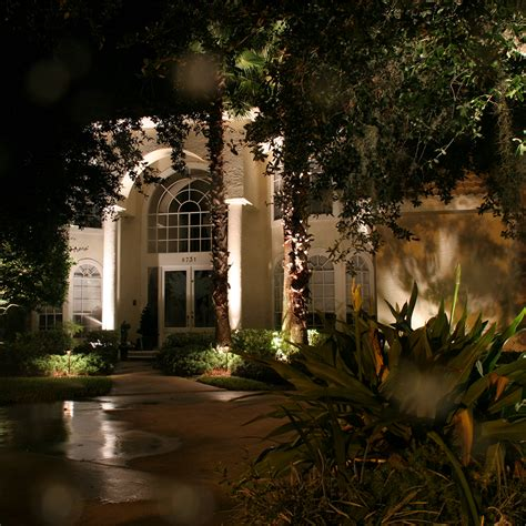 Architectural Styles Features Objects To Light Photo Cast Landscape Lighting