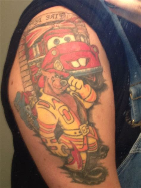 fireman tattoos designs 1151 best firefighter tatoos images on arm