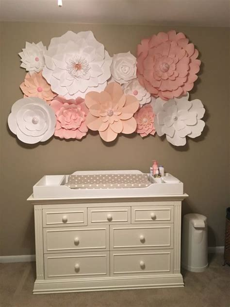 flower wall decor ideas  pinterest diy wall