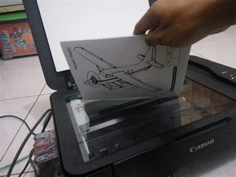 Printer Yang Ada Scanner cara scan dokumen dengan printer canon mp237