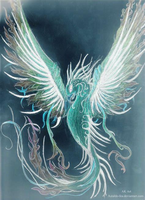 blue phoenix mythology pictures to pin on pinterest