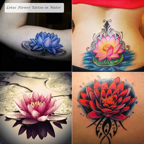 tribal lotus flower tattoos different designs of tribal lotus tattoos and their