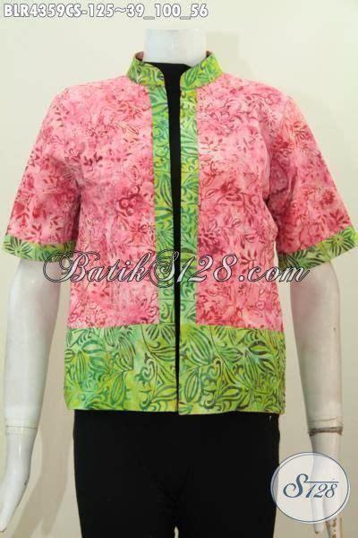 Atasan Batik Wanita Blazer Batik Bolero Batik Lengan Panjang 2 batik wanita model feminin model baju batik modern 2018