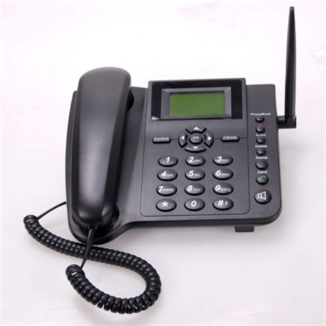 T 233 L 233 Phone De Bureau Gsm Avec Emplacement Carte Sim Telephone Bureau