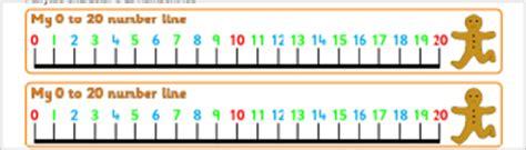 free printable number line banner free gaeilge maths teaching resources printables