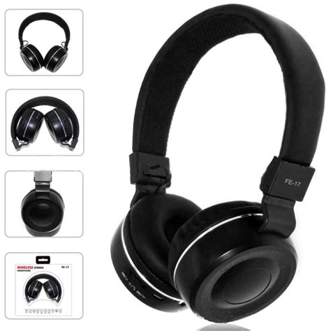 bluetooth foldable headset 170508 fe 17 black jakartanotebook