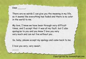 Apology Letter To Boyfriend After Breakup Apology Letter To Boyfriend To Boyfriend Pegitboard