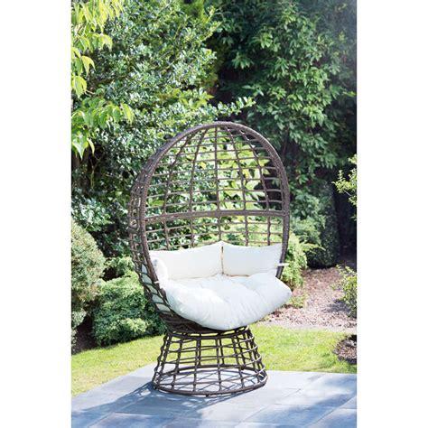 bm roma swivel egg chair garden furniture