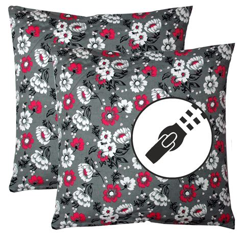 couch pillow stuffing set of 2 pillow sofa cushion 45x45cm 100 cotton with